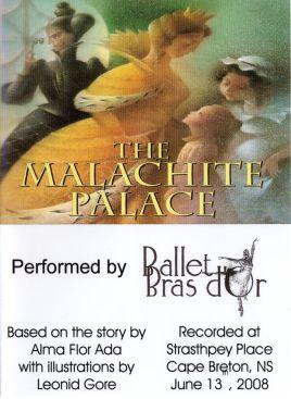 The Malachite Palace Ballet DVD