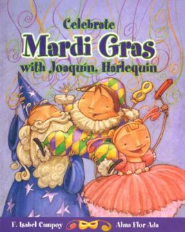 Celebrate Mardi Gras with Joaquín, Harlequin