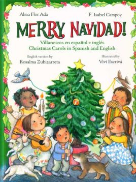 Merry Navidad. Christmas Carols in Spanish and English