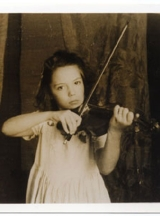 AFA playing violin